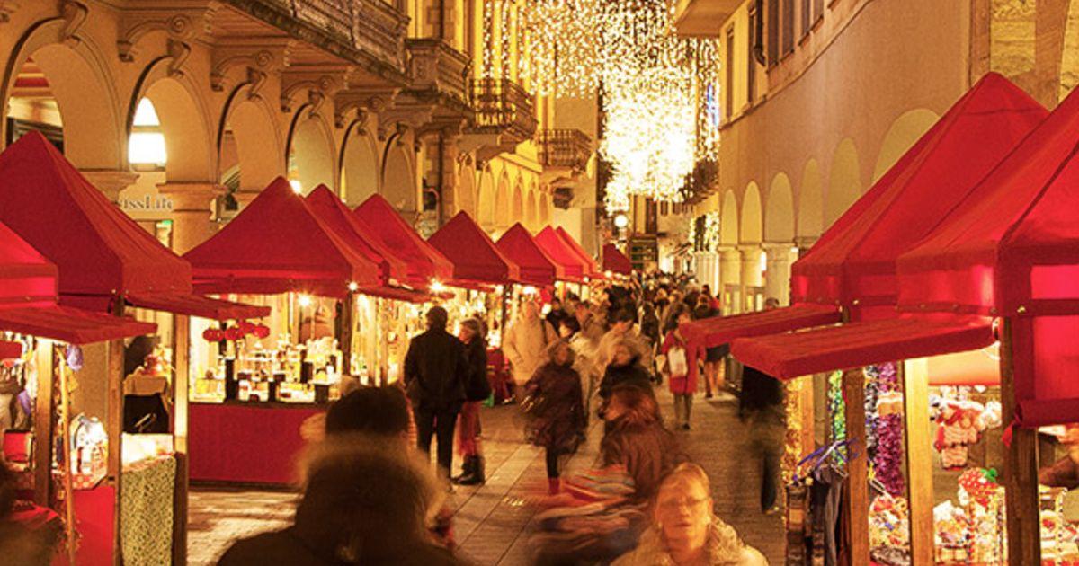 Mercatini Di Natale A Lugano.Mercatini Di Natale A Lugano